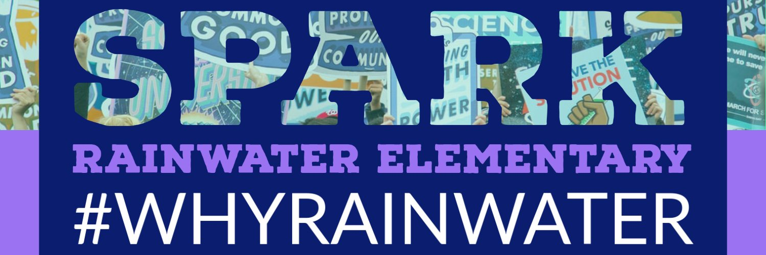 Rainwater is a school where students feel safe & loved. Our students are nurtured to become lifelong learners. 'Shooting for the stars and beyond!'