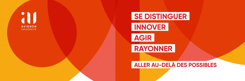 Avignon Université's official Twitter account