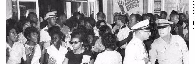 My late mother once sat on a textbook committee and asked why there was no mention of Florida's civil rights moveme… https://t.co/ubedF5ekcy