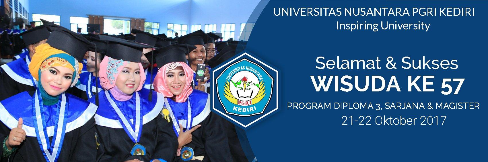 Universitas Nusantara PGRI Kediric's official Twitter account