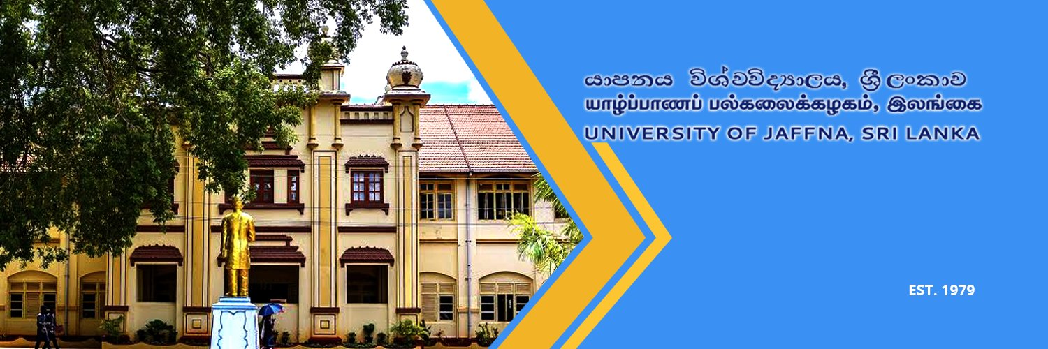 University of Jaffna's official Twitter account