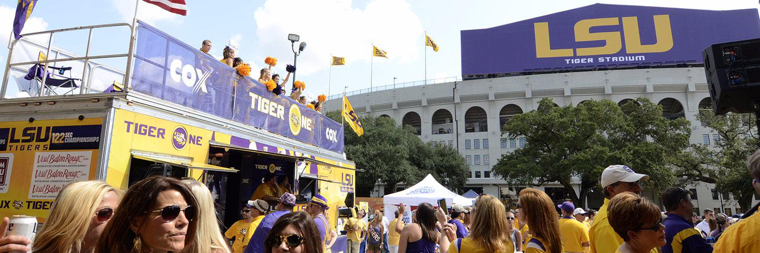 After today's @LSUfootball National Championship celebration on campus. Tune in for exclusive replay of @LSUradio… https://t.co/aeChnGp2bd