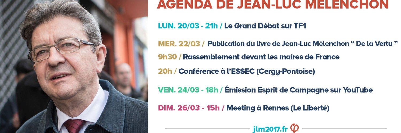 #Macron pourrait bien être à #LePen ce que #Clinton a été à #Trump. @Simonnet2 #BourdinDirect #JLM2017