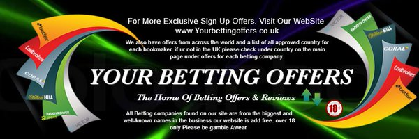 Your Betting Offers Profile Banner