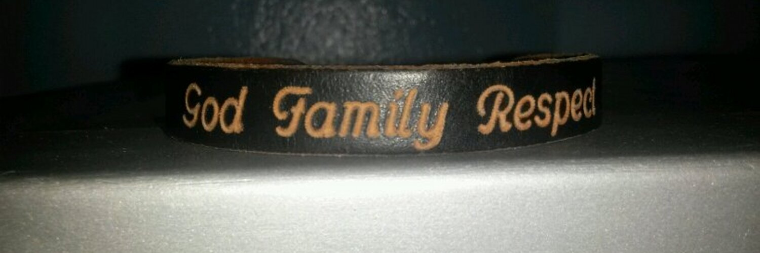 God, Family, and Respect thats all I need.