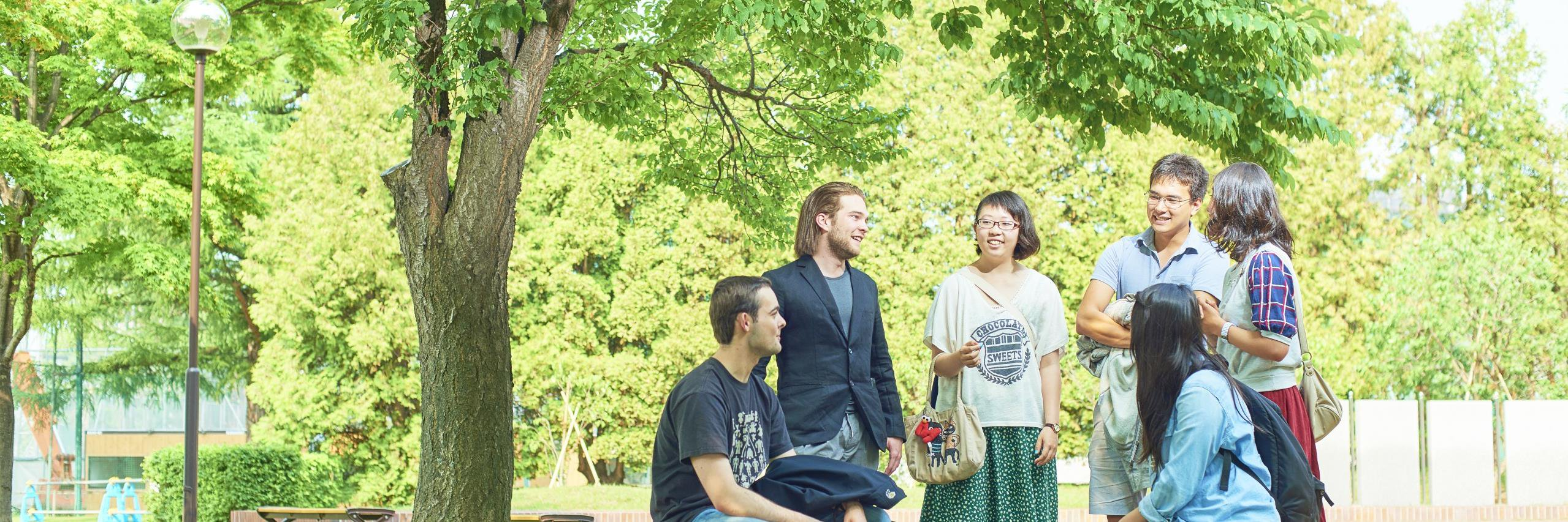 Hokusei Gakuen University's official Twitter account