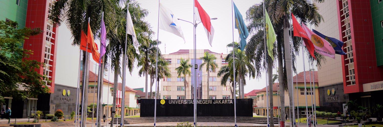 Universitas Negeri Jakarta's official Twitter account