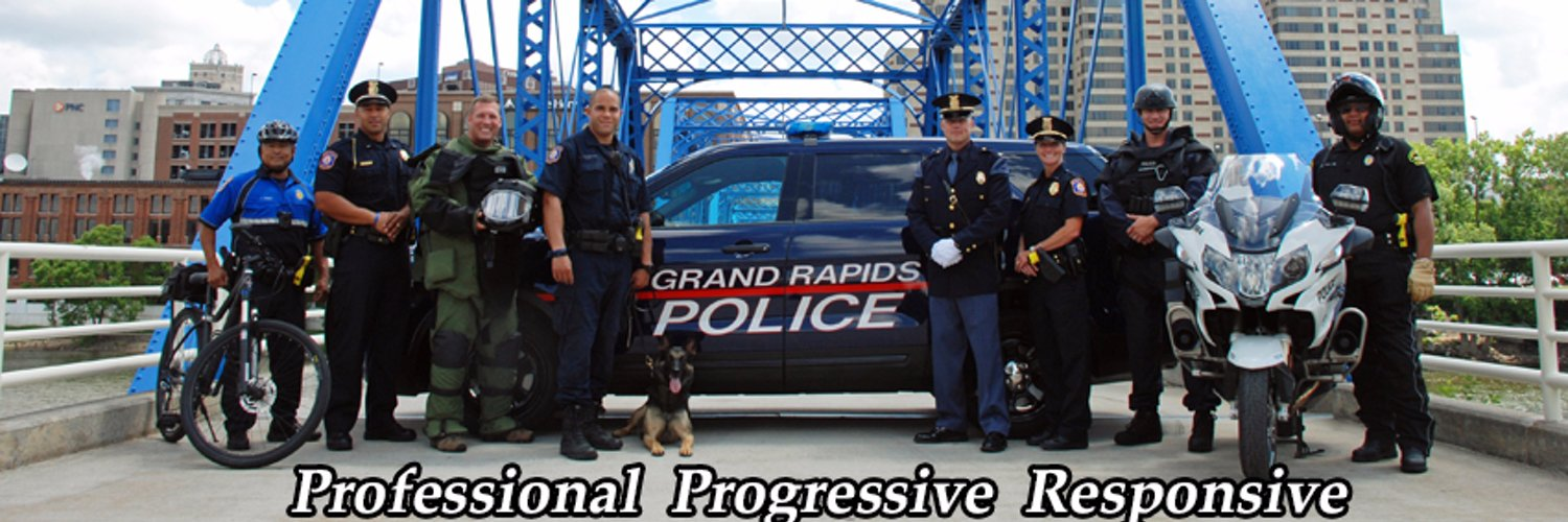 Est. in 1871, the GRPD has grown to become one of the largest municipal police departments in MI. CityWatch GR: grpdreporting.grand-rapids.mi.us
