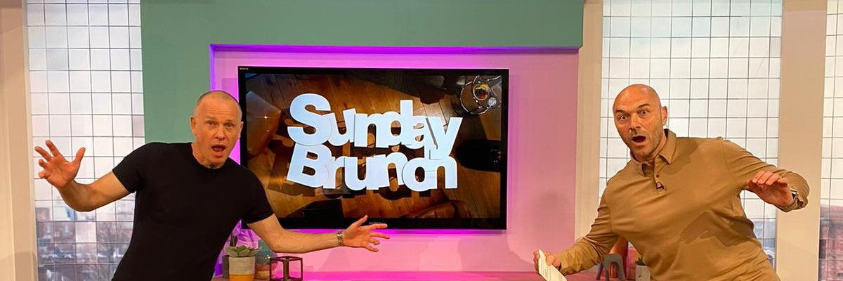 This week on #SundayBrunch: @JamieLaing_UK, @IsabellaPappas, @awilliamsonTV, @RealDeniseWelch, @NikkiSanderson,… https://t.co/wrYPVpRd9k