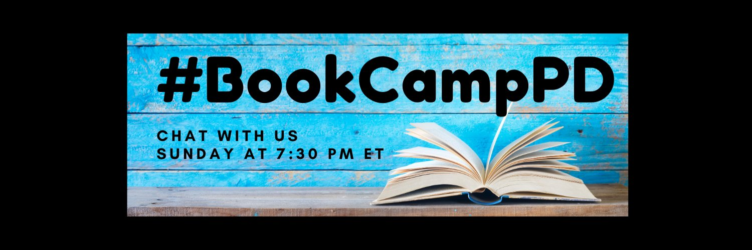 Let's chat about what you're reading Check out #BookCampPD 📚Previous school admin for 26+ years. 40 yrs in education- Love 💜Vikings bookcamppd.com