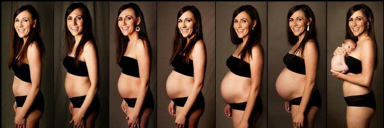 Приколов, картинки беременность по месяцам