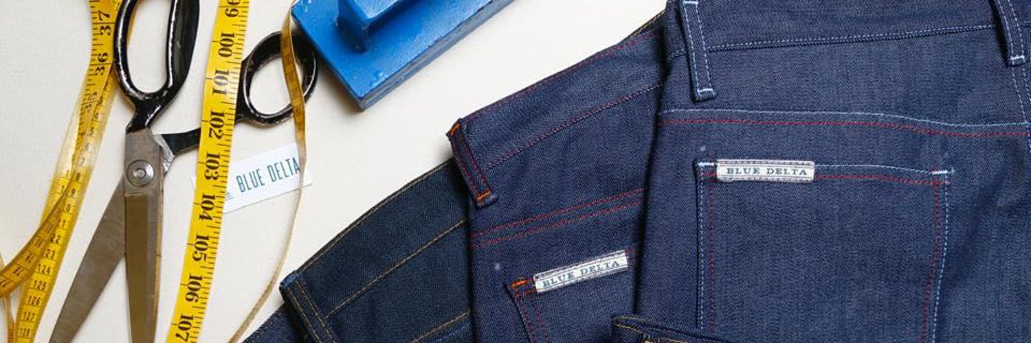 Bespoke, raw denim blue jeans - hand cut and sewn in Tupelo, Mississippi • We make custom jeans from your measurements.