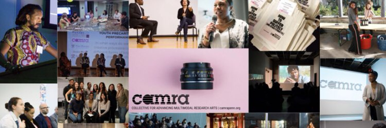CAMRA (Collective for Advancing Multimodal Research Arts) - a media pedagogy lab dedicated to experiments in research representation and knowledge production.