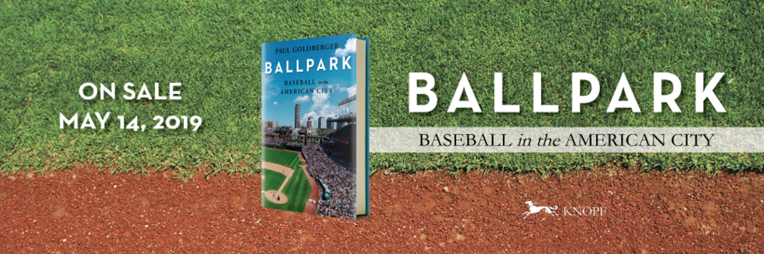 I finished reading @paulgoldberger Ballpark. My main criticism is that its too damned short. I feel like he could have done 30 pages on Tiger Stadium alone, and 20 pages each on Crosley and Forbes. Ah well...