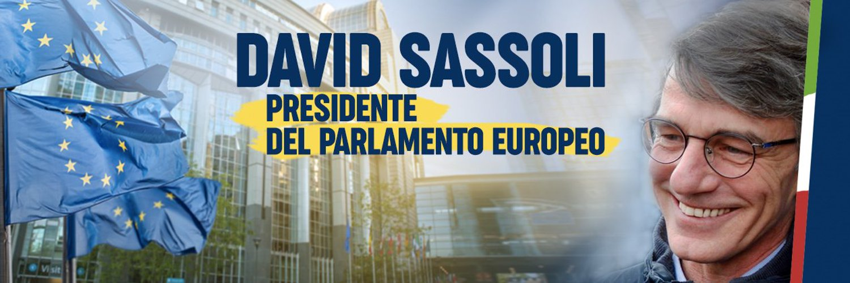 David-Maria SASSOLI Eurodeputato del Parlamento Europeo