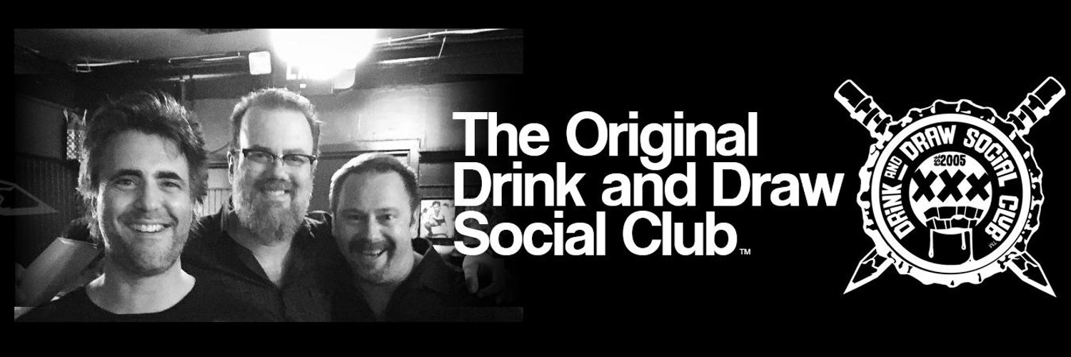 The Official Twitter Account of the Original Drink and Draw Social Club! Cheers!