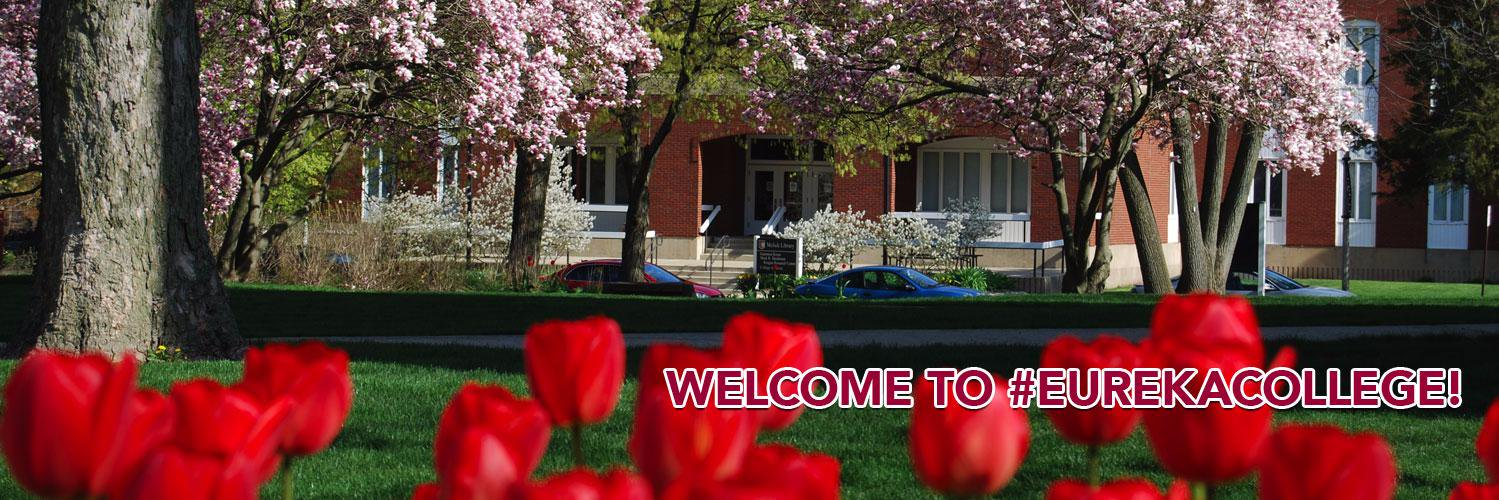 Eureka College's official Twitter account