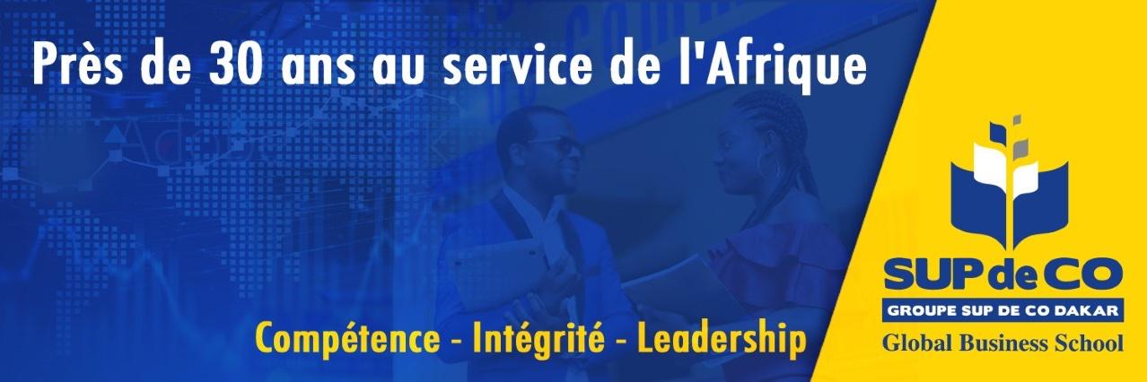 École Supérieure de Commerce de Dakar's official Twitter account