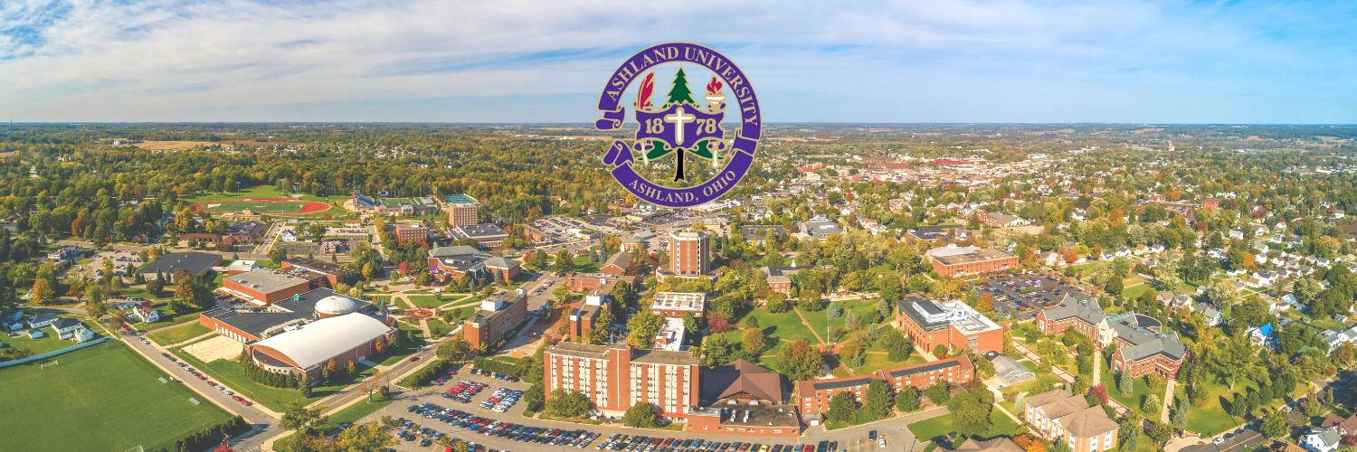Ashland University's official Twitter account