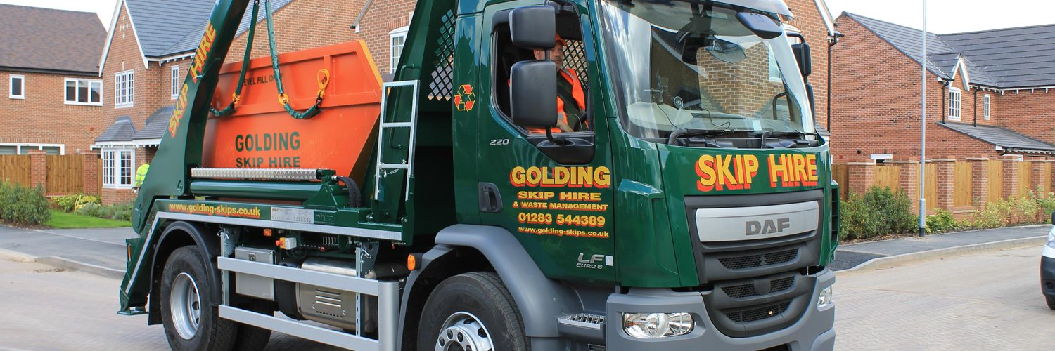 golding skip hire on twitter here is our 2nd new lorry. Black Bedroom Furniture Sets. Home Design Ideas