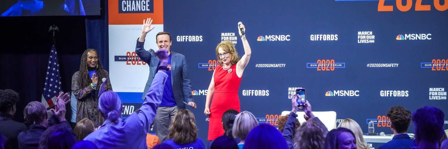 Led by @GabbyGiffords, we're on a mission to save lives from gun violence. Text COURAGE to 90975 to join the fight.