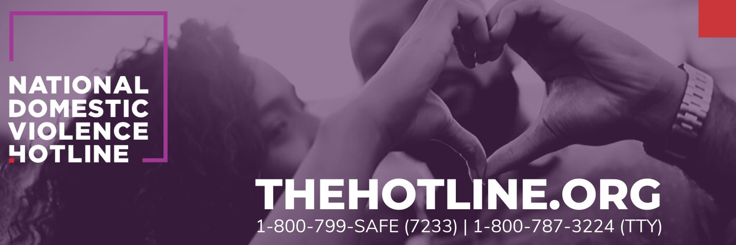Resources & support for anyone affected by DV &/or relationship abuse. ☎️ Call/Chat 24/7/365 . 1-800-799-7233 . 1-800-787-3224 (TTY) . Español Chat available