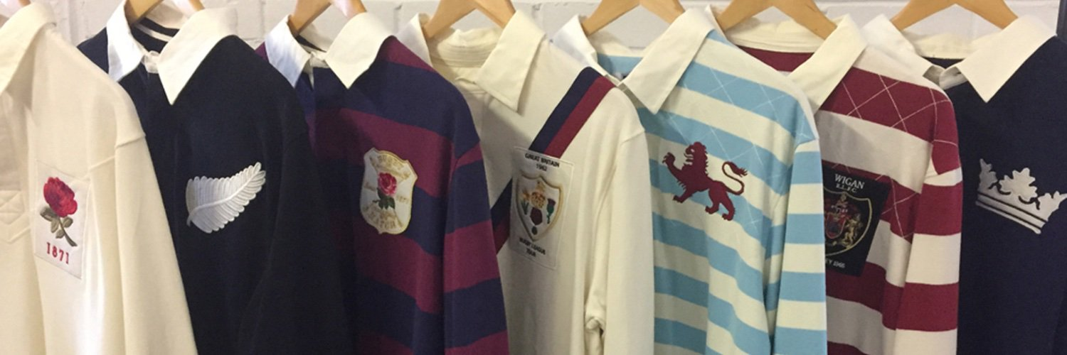 Ellis Rugby is the Original Rugby Heritage Brand. We produce fashion clothing that is inspired by the history of Rugby Football.