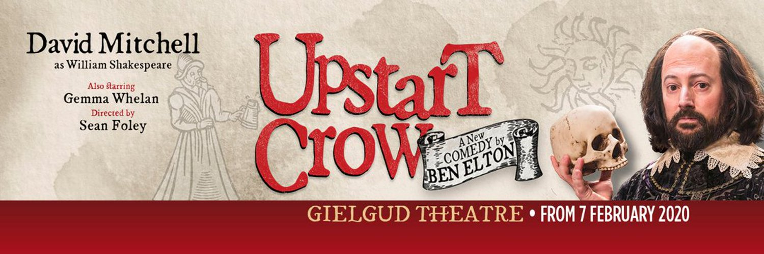 Actor. Represented by Eamonn Bedford Agency. Currently playing Arrogan in @UpstartCrowPlay