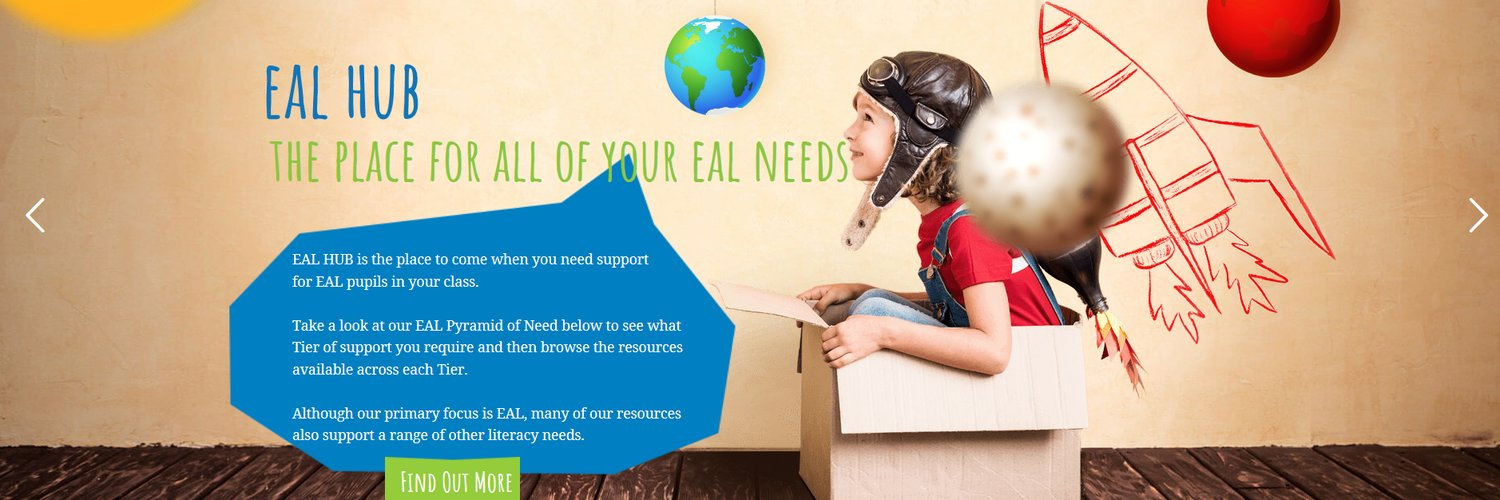 EAL consultant•EAL SLE•Owner of EAL HUB• Former Head of EAL/Leading EAL Teacher•Book lover•Follow for #EAL #ESOL #SEN ideas - ealhub.co.uk Get in touch for CPD!