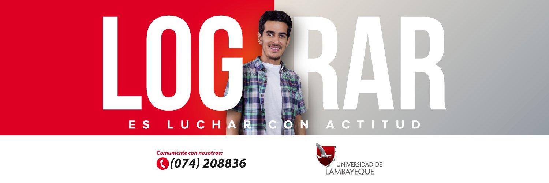 Universidad de Lambayeque's official Twitter account