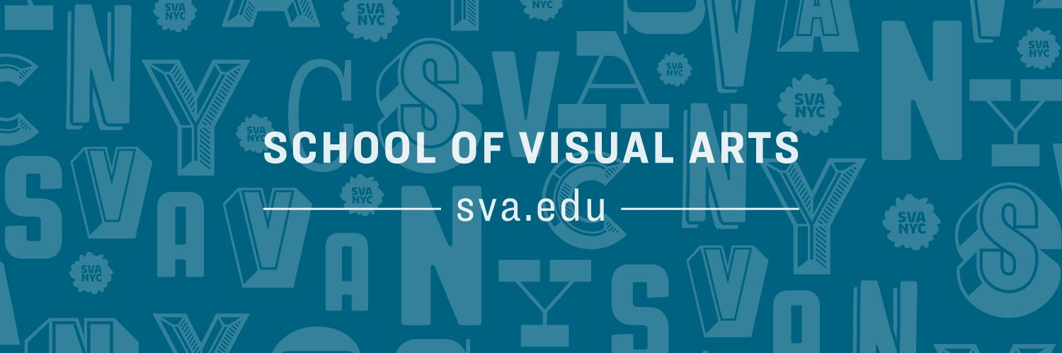 School of Visual Arts's official Twitter account