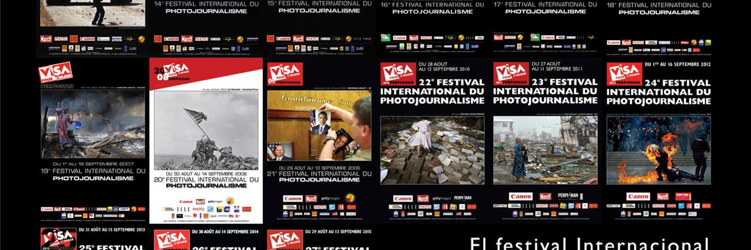 Visa pour l'Image is the first International Festival of Photojournalism held in Perpignan, France.