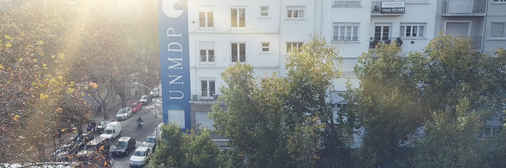 Universidad Nacional de Mar del Plata's official Twitter account
