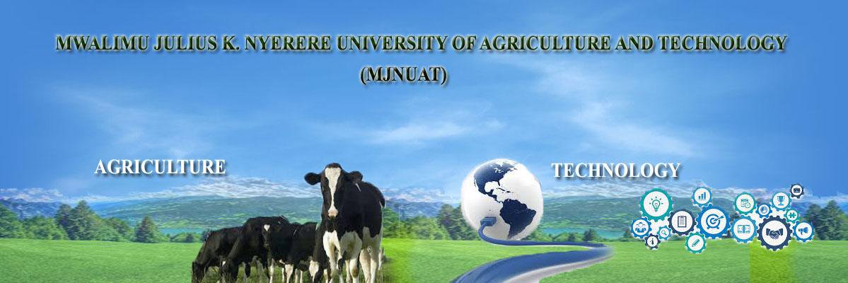 Mwalimu Julius K. Nyerere University of Agriculture and Technology's official Twitter account