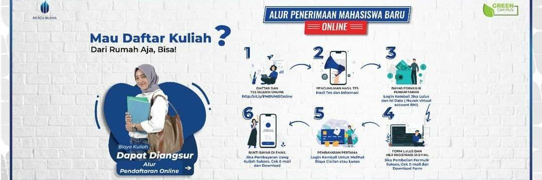 Universitas Mercu Buana's official Twitter account
