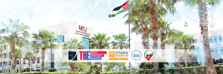 Middle East University, Jordan's official Twitter account