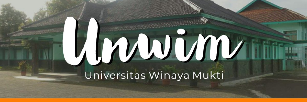 Universitas Winaya Mukti's official Twitter account