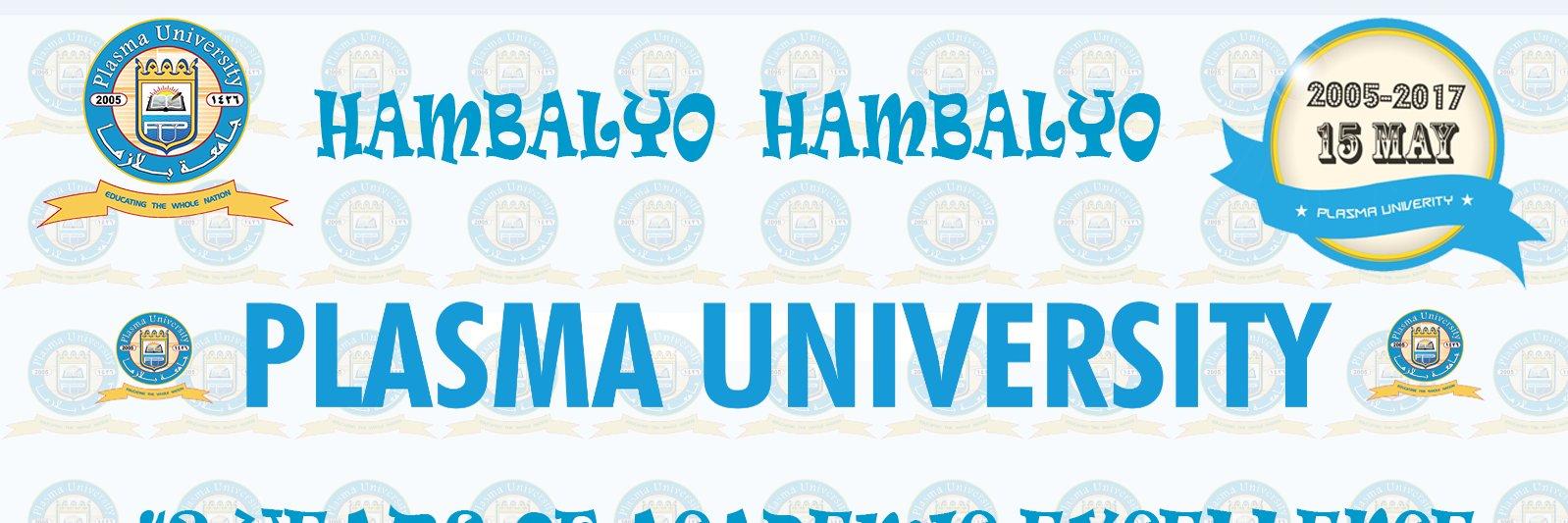 Jaamacada Plasma's official Twitter account
