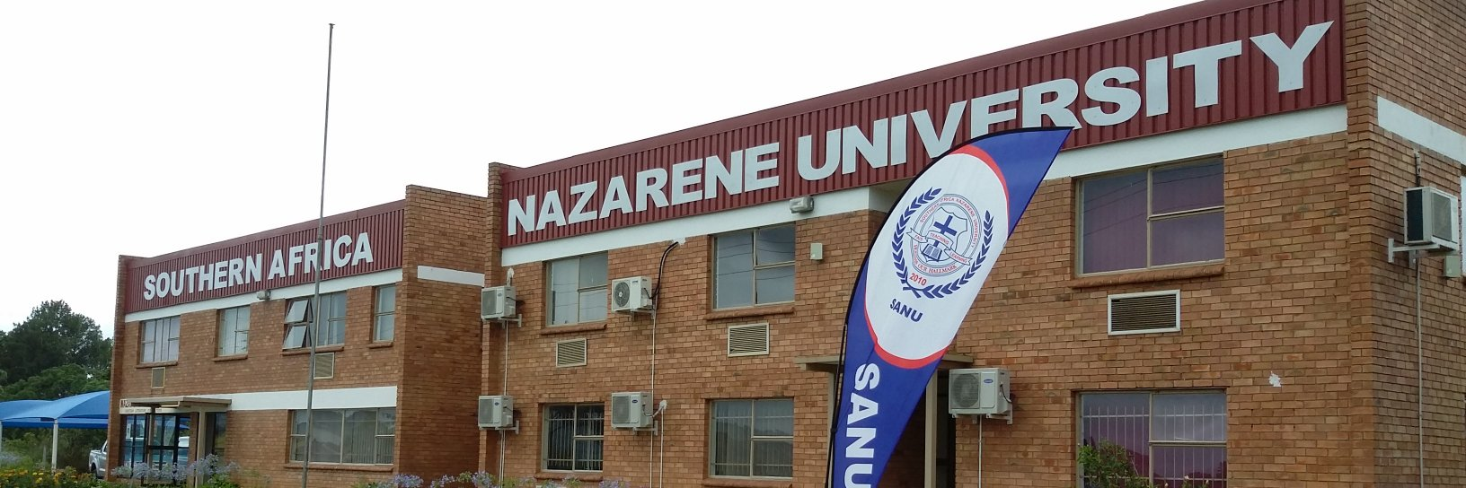 Southern African Nazarene University's official Twitter account