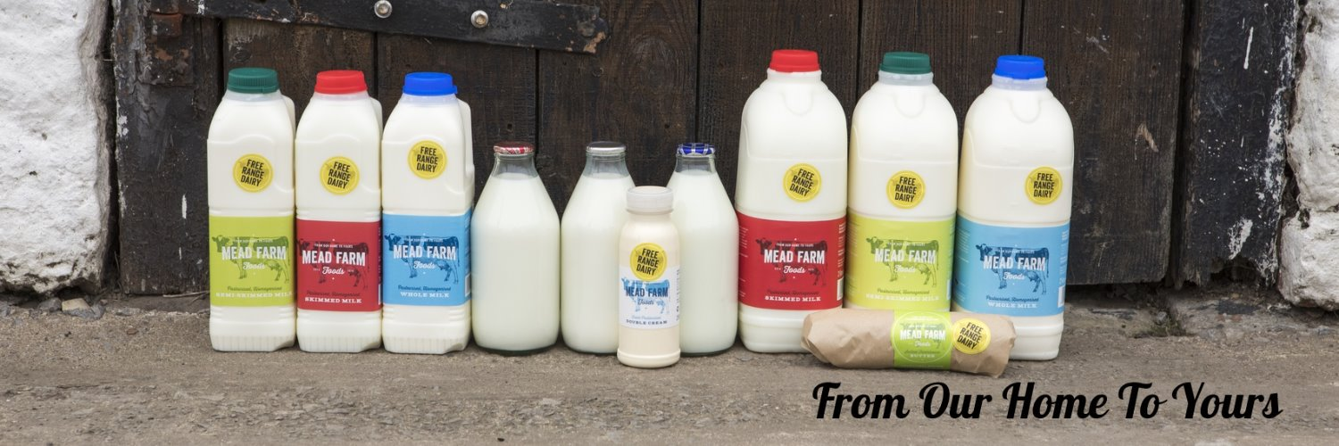 Fresh Free Range Milk, Cream and Butter all made on our farm and packed within 12hrs of harvest #doorstep to NP26, NP18 2, NP19 4 #FreeRangeDairy