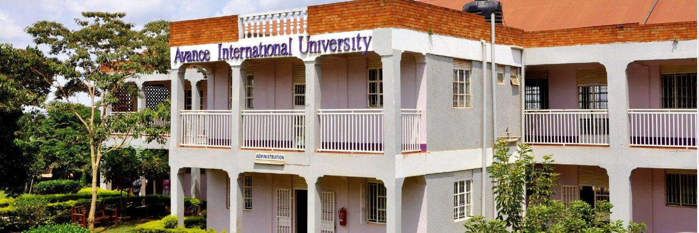 Avance International University's official Twitter account