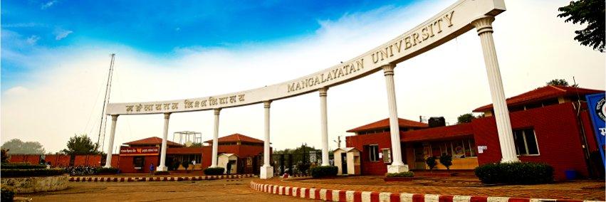 Mangalayatan University's official Twitter account