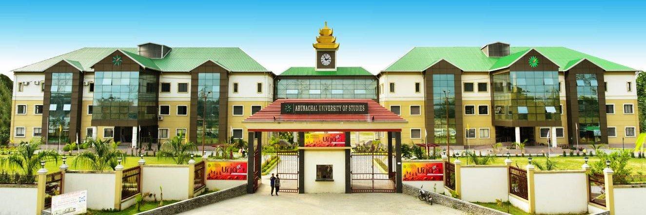 Arunachal University of Studies's official Twitter account