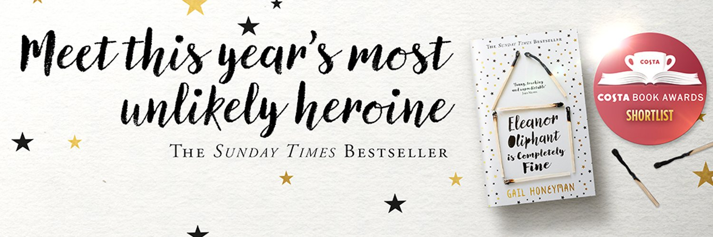 Writer and reader. Debut novel ELEANOR OLIPHANT IS COMPLETELY FINE published by @HarperCollinsUK @PamelaDormanBks