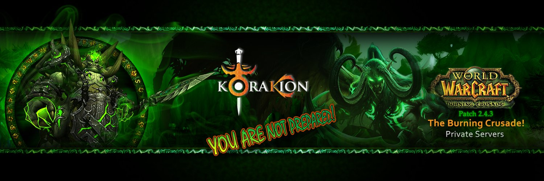 Korakion TBC Server (@Korakion) | Twitter