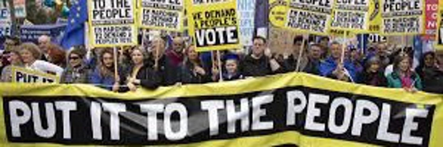 A Brexit deal forced through without a Peoples Vote would be a crime against democracy. Please RT if you agree.