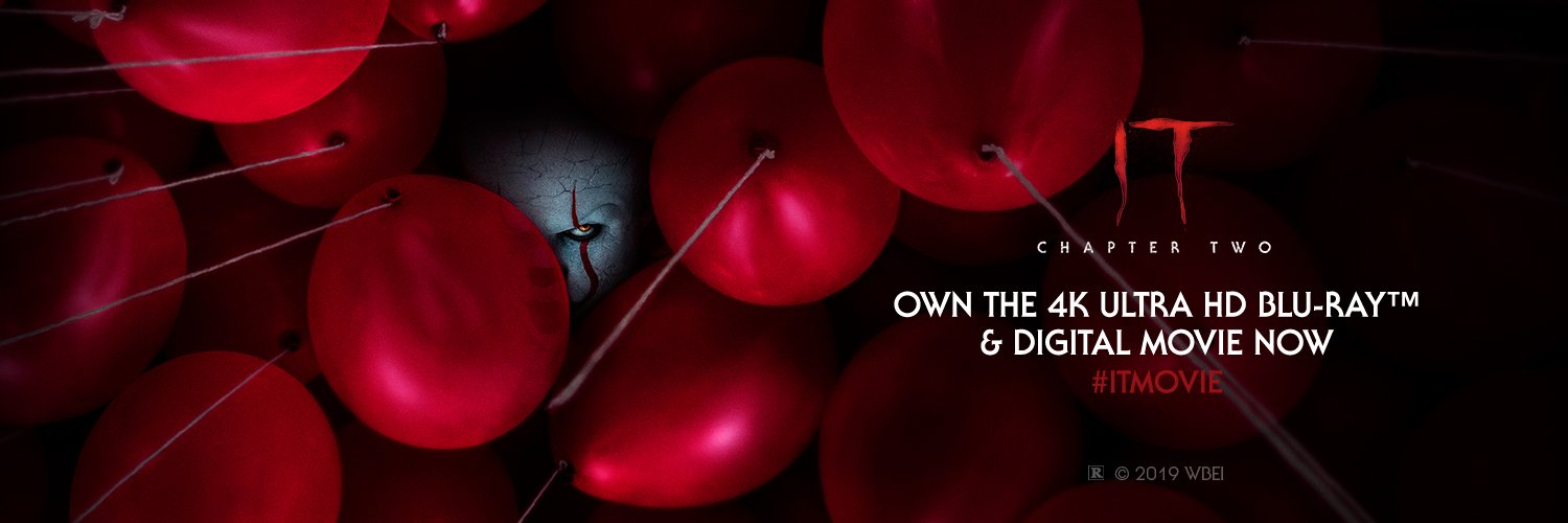 #ITChapterTwo | Own IT on Digital and Blu-ray™ now.