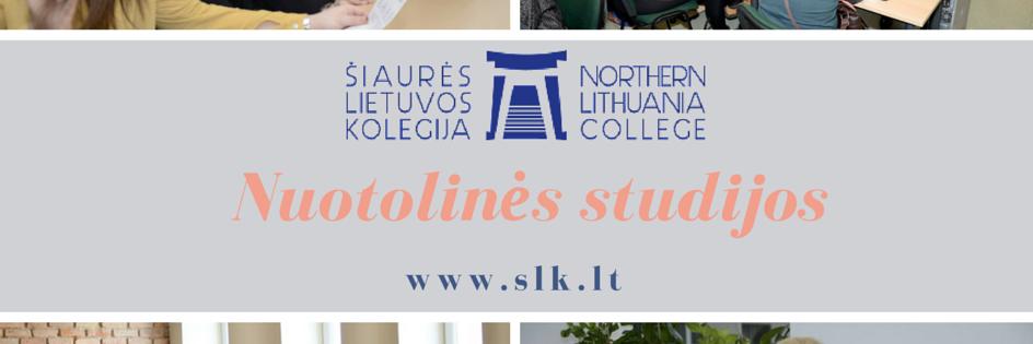 Šiaures Lietuvos kolegija's official Twitter account