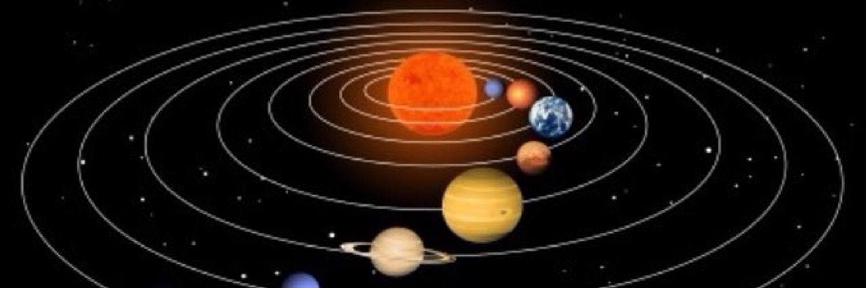 Гифка планеты крутятся вокруг солнца делаю