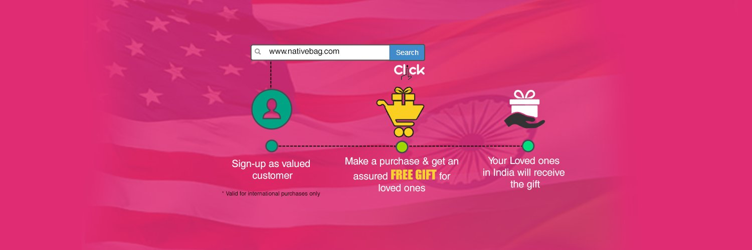 Nativebag is an online market place supplying Indian native products such as rare artifacts, paintings, ethnic wear, homemade items, at fair competitive prices.